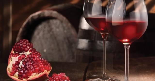 Ставим вино из граната в домашних условиях