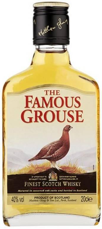 Виски famous grouse: обзор солодовых и купажированных скотчей бренда | inshaker | яндекс дзен