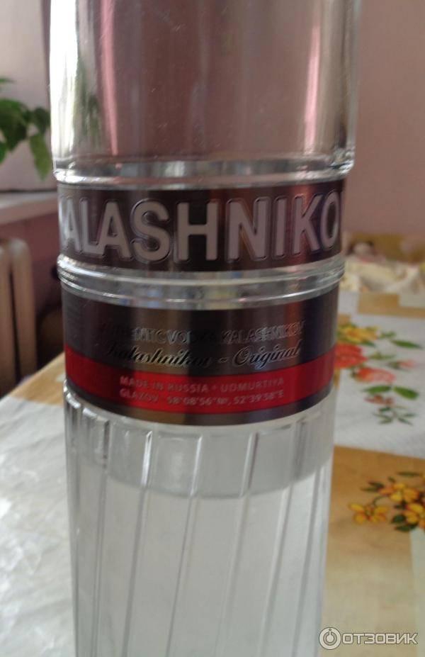 Обзор водки Калашников