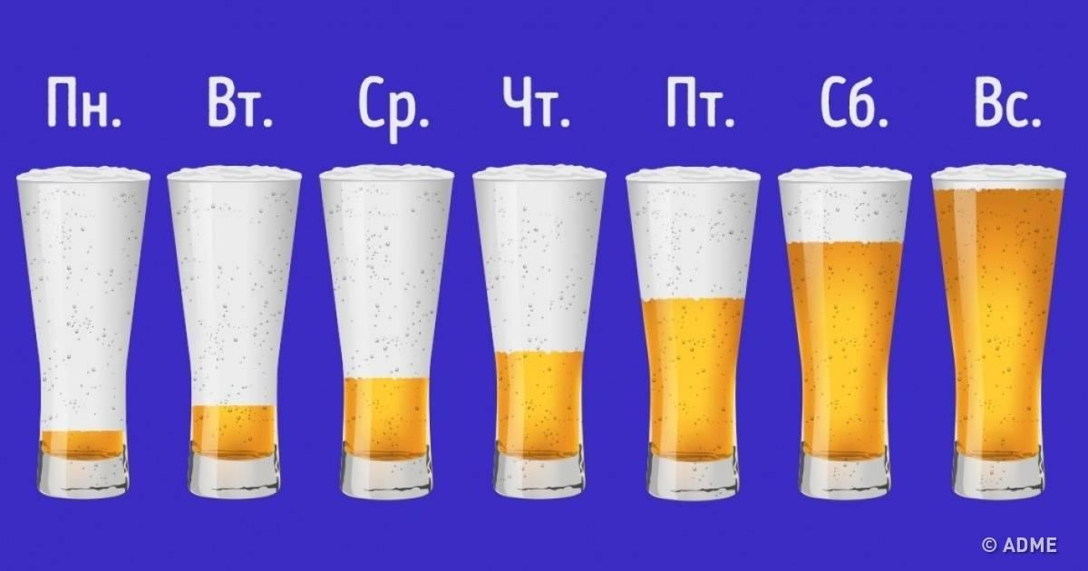 Что произойдёт с вашим телом, если каждый день пить пиво? :: инфониак