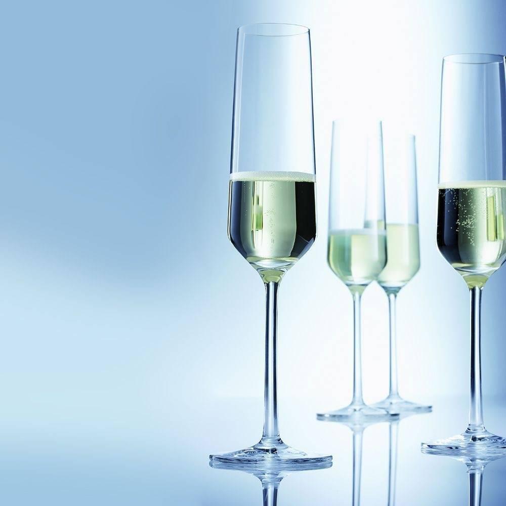 Бокалы для шампанского – история создания, основные формы, цветные фужеры, как выбрать?