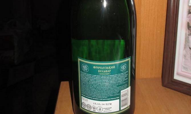 Какой срок годности шампанского в бутылке