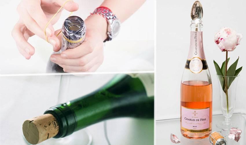 Как открыть шампанское: полезные советы
