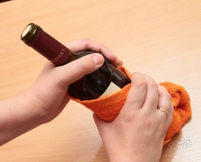 Как открыть бутылку вина штопором – инструкция и видео
