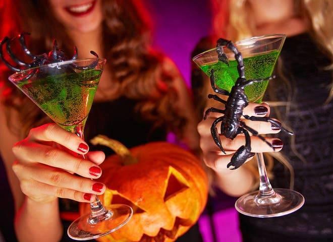 Рецепты коктейлей на хэллоуин