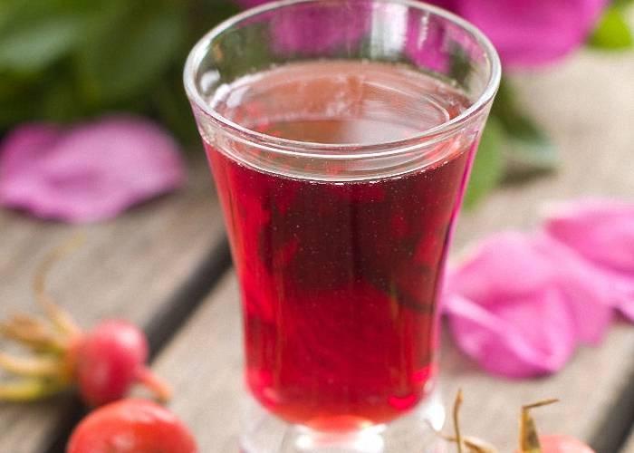 Рецепт приготовления домашнего вина из шиповника