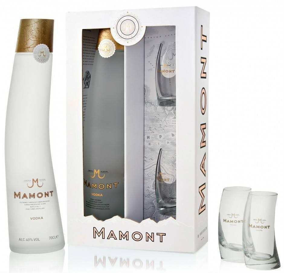 Водка мамонт (mamont): из чего производится и где купить алкогольный продукт