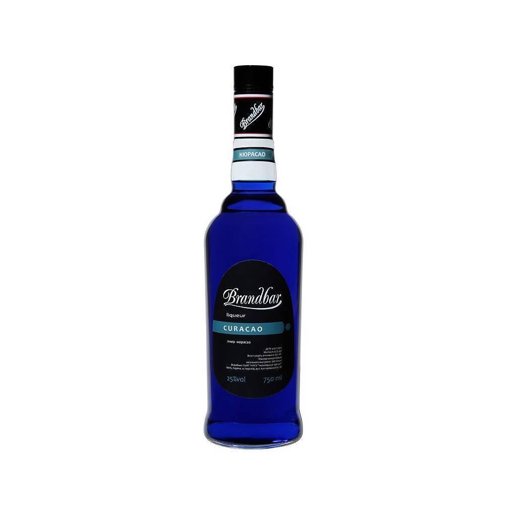 Ликер Блю Кюрасао (Blue Curacao) — напиток цвета морской волны