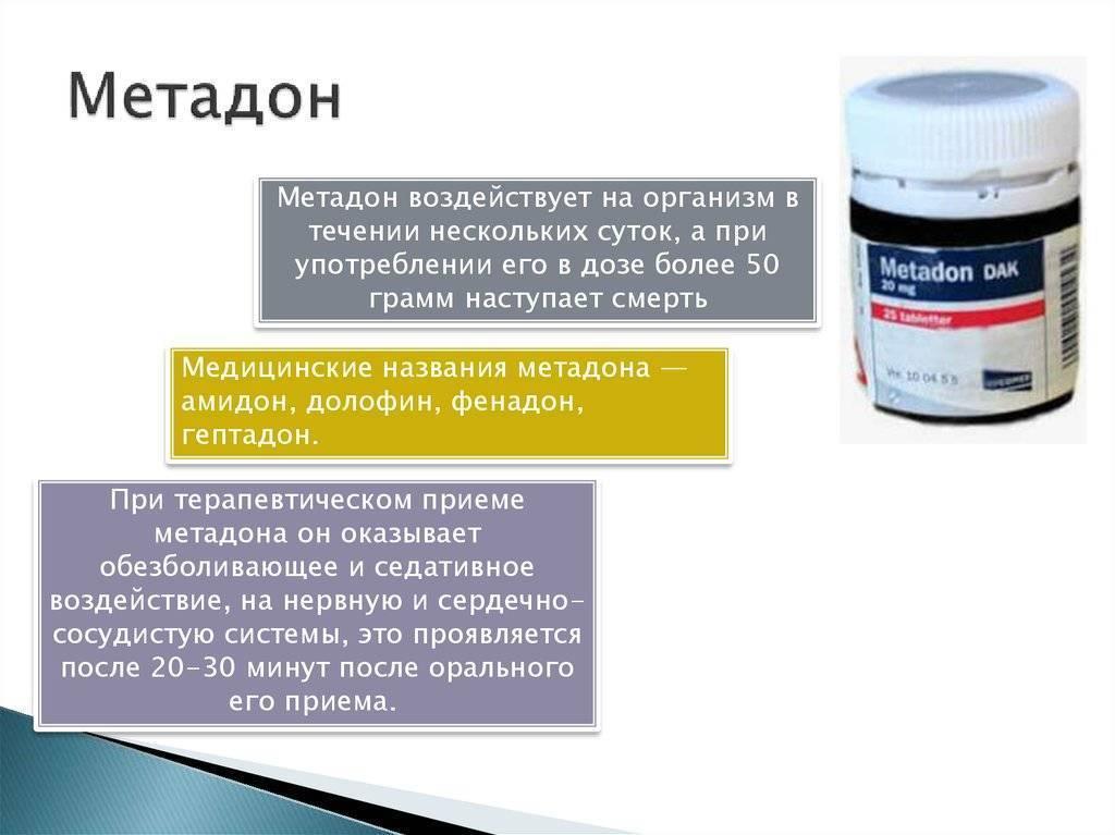 Что такое метадон?   подробное описание: воздействие, последствия, зависимость