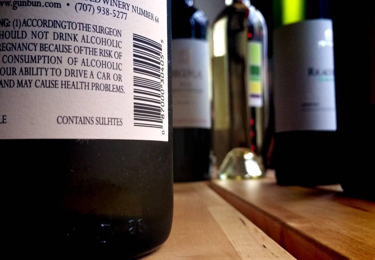 Пищевая добавка е 220: бокал вина с диоксидом серы