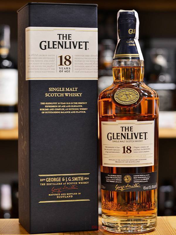 Виски glenlivet (гленливет), 18 лет, и его особенности