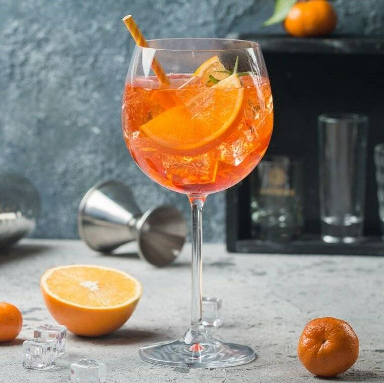 Рецепты приготовления коктейлей с просекко