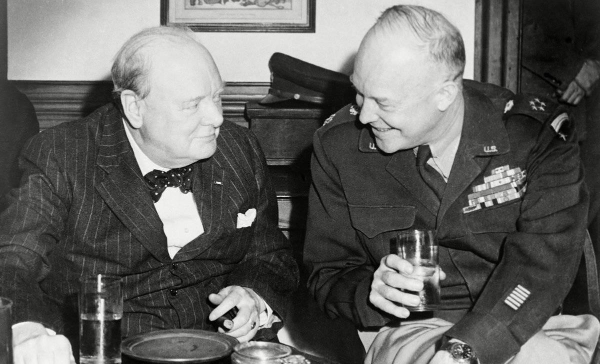 Какой коньяк пил Черчилль