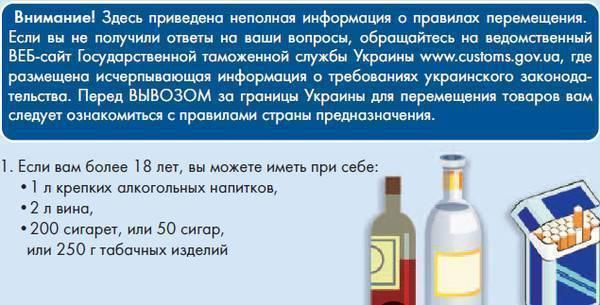 Сколько алкоголя можно ввозить в россию в 2020 году