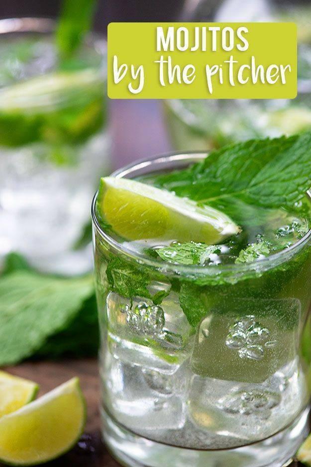 Как приготовить алкогольный мохито в домашних условиях