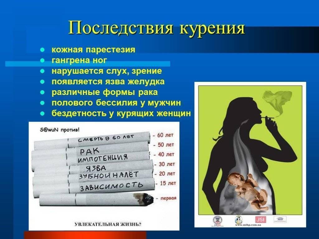 Как курение может повлиять на общее состояние организма?