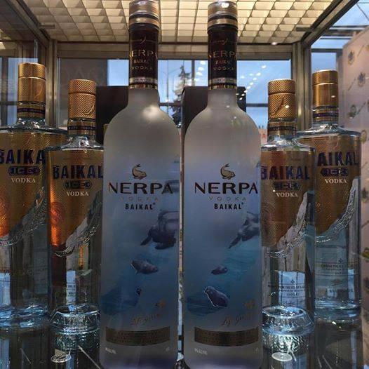 Обзор водки Нерпа