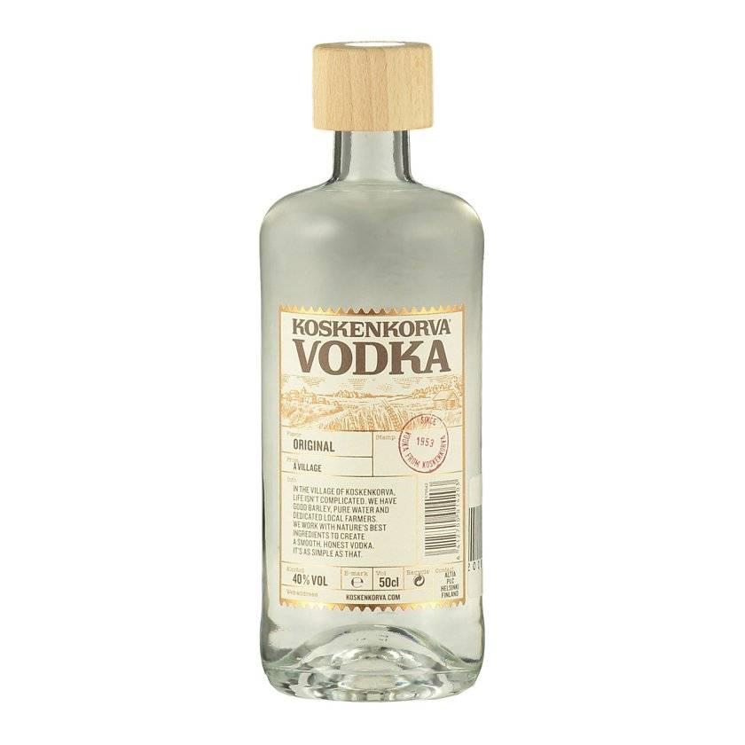 Водка «koskenkorva» lakritsi, 0.5 л — «коскенкорва» лакрица, 500 мл