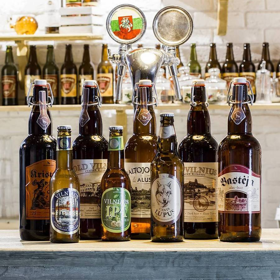 Литовское пиво: обзор 5 марок