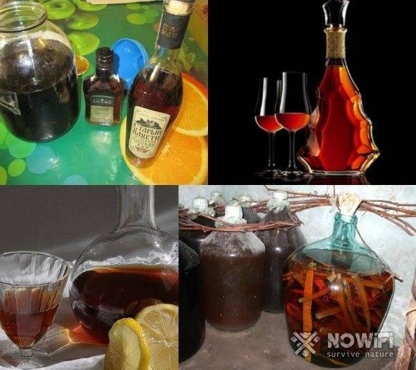 Коньяк из спирта в домашних условиях: рецепты на дубовой коре, ореховых перепонках, секреты приготовления