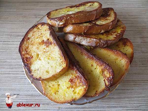 Гренки на сковороде - 14 домашних вкусных рецептов приготовления