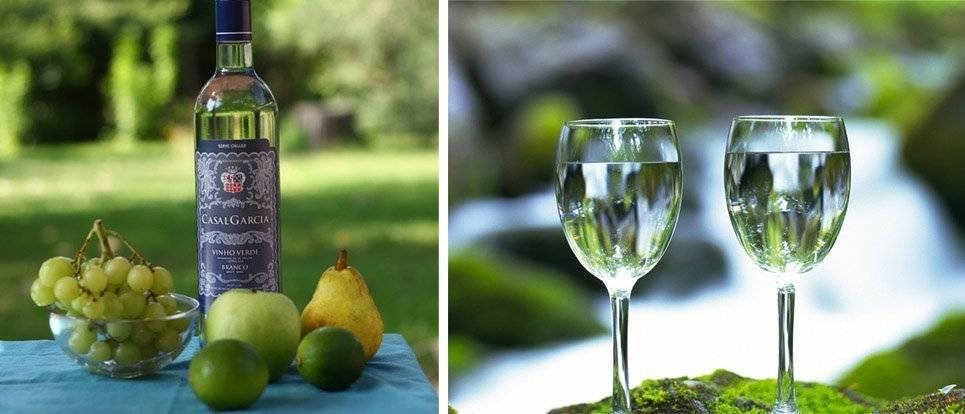 Обзор зеленого вина из португалии