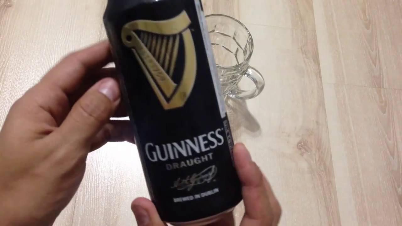 Пиво с азотной капсулой guinness: описание, отзывы и цена