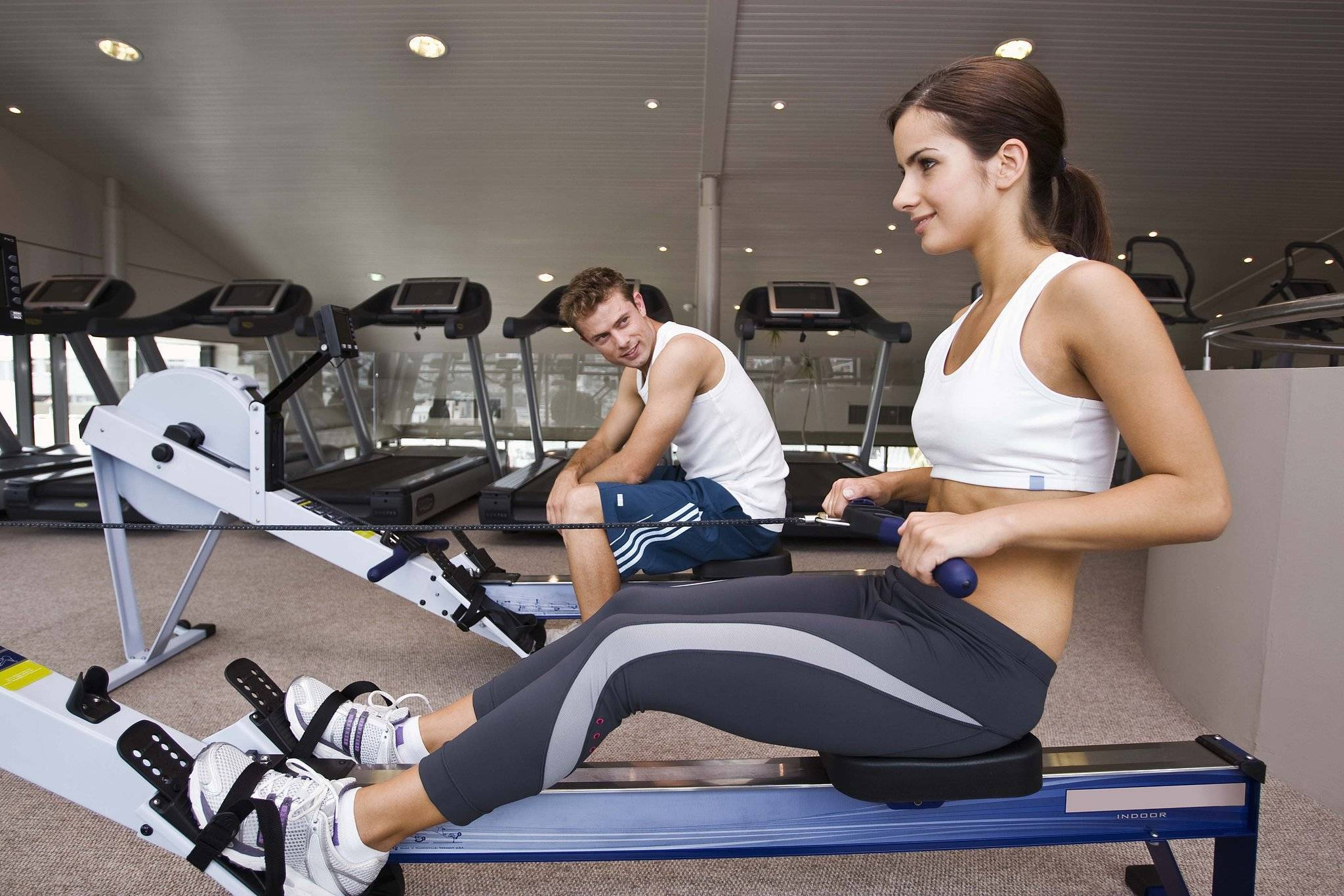 Тренажёрный зал для похудения живота и быстрого сжигания жира