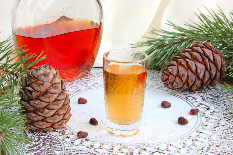 Настойка на кедровых орешках на водке, спирте, самогоне