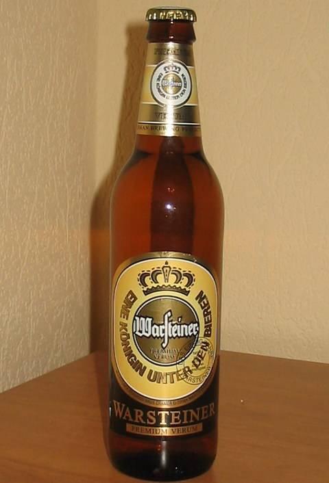Немецкое пиво «варштайнер»: в чем преимущества