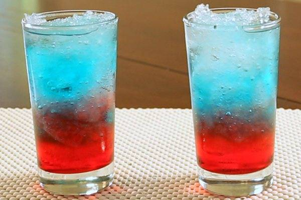 Российский флаг коктейль рецепт