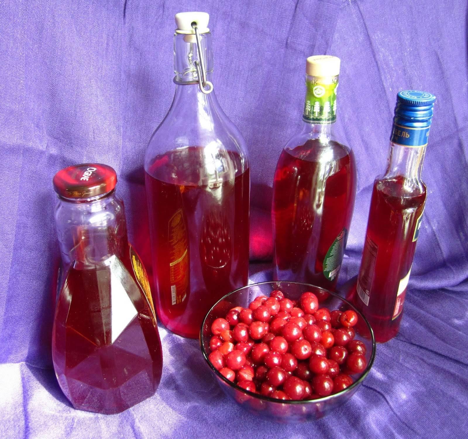 Как приготовить вишневый ликер в домашних условиях: как правильно по рецептам сделать напиток из вишни