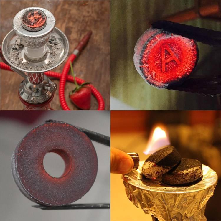Как разжечь угли для кальяна: на плите, в духовке, в микроволновке