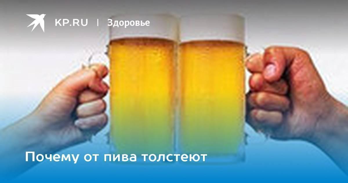 Есть вопрос: как пить пиво и не толстеть - новая медицина