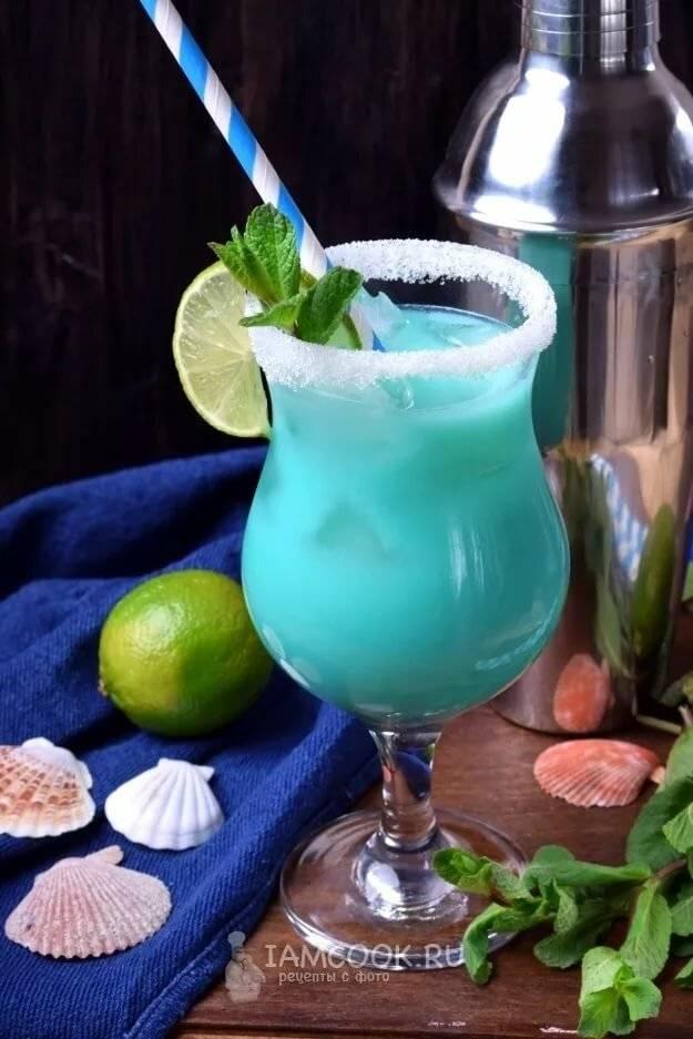 Коктейль голубые гавайи — рецепты приготовления с ликером
