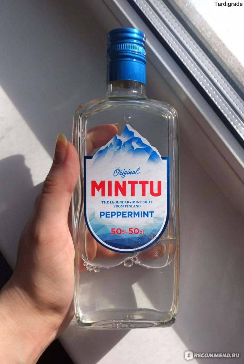 Финский ликер минту