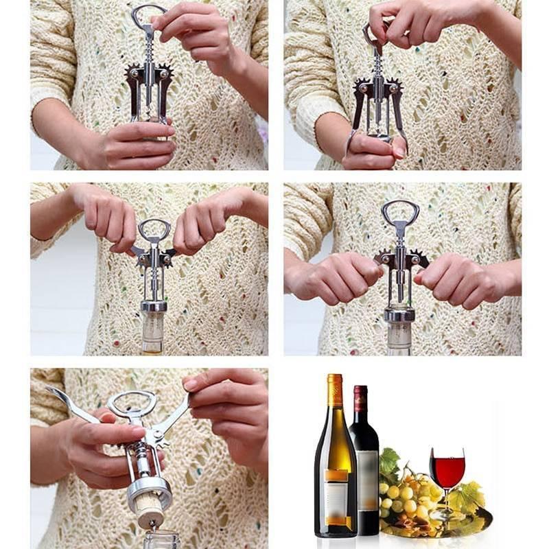Как открыть вино без штопора на природе: 8 способов