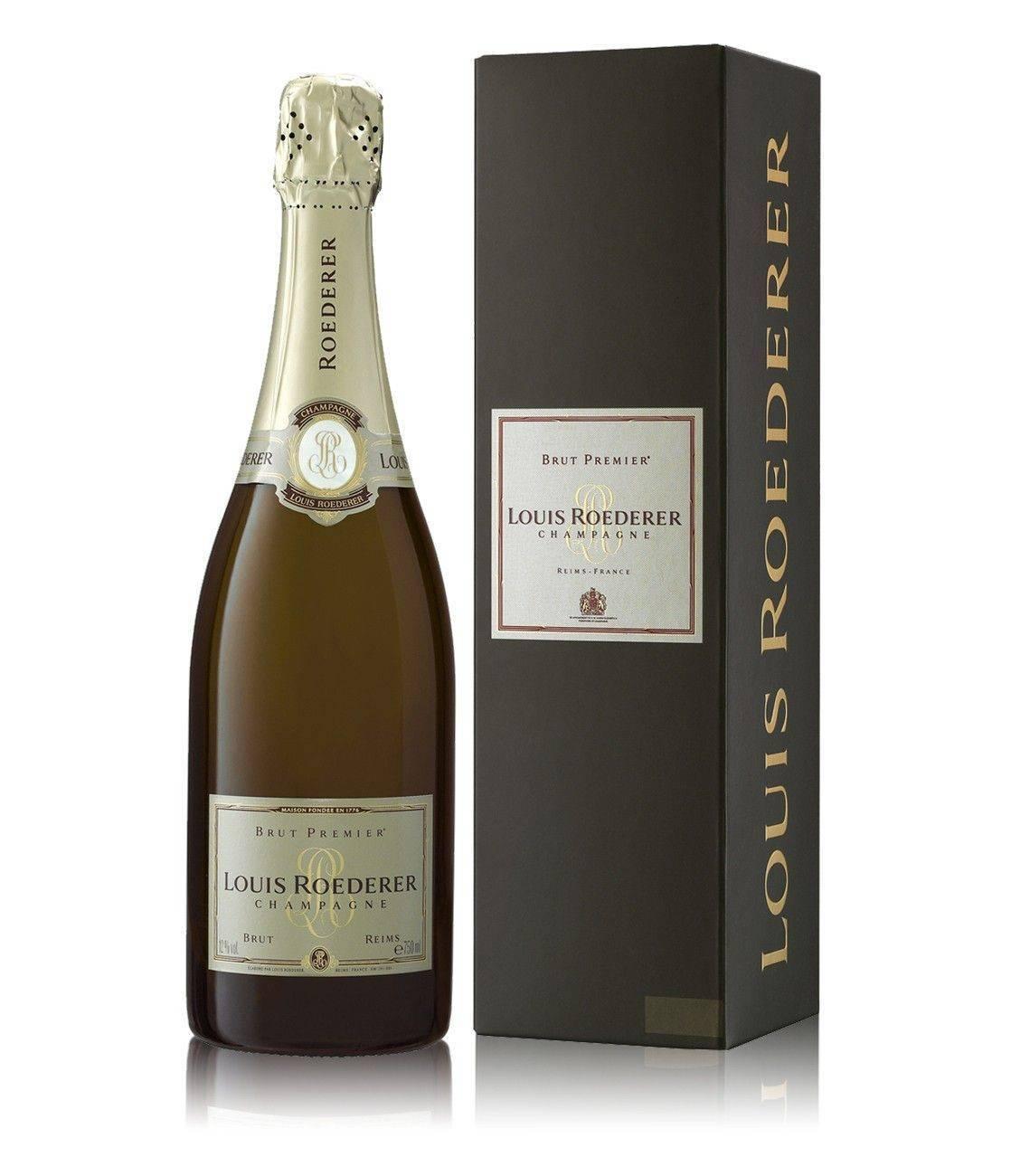Обзор шампанского Louis Roederer Brut Premier