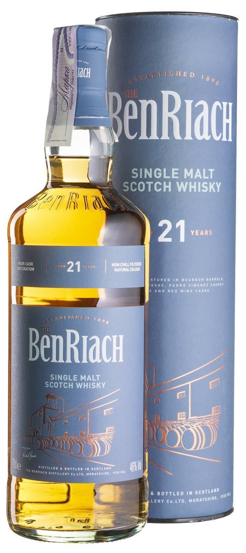 Обзор виски benriach (бенриах) - особенности и характеристика