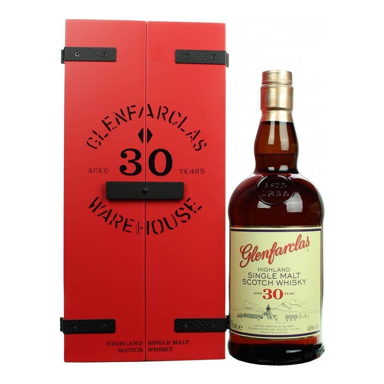 Виски гленфарклас (glenfarclas): описание и виды марки
