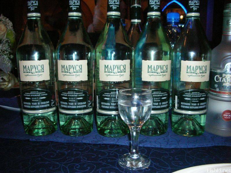 Обзор водки Маруся