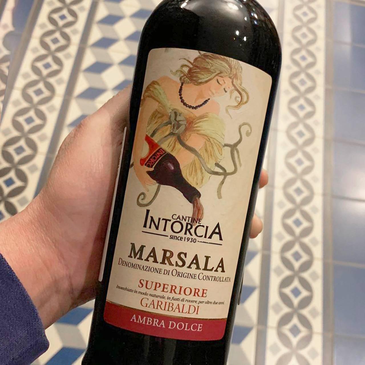 Марсала (вино) — википедия