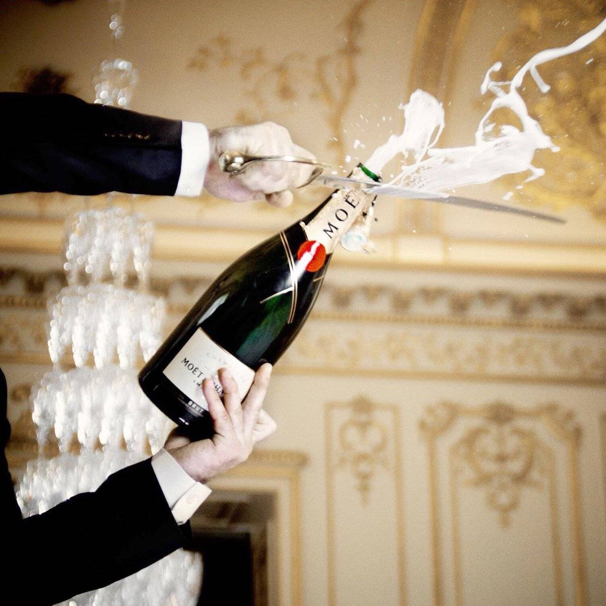 Как открывать шампанское? полезные советы