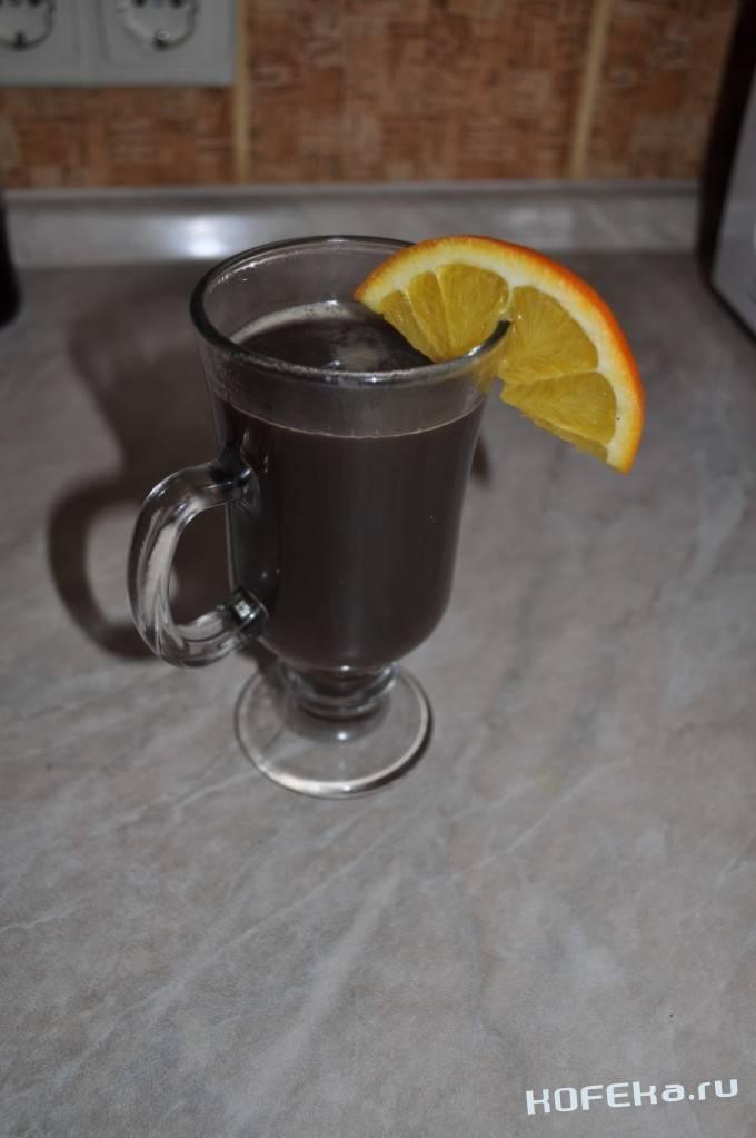 Кофе с ромом в домашних условиях.
