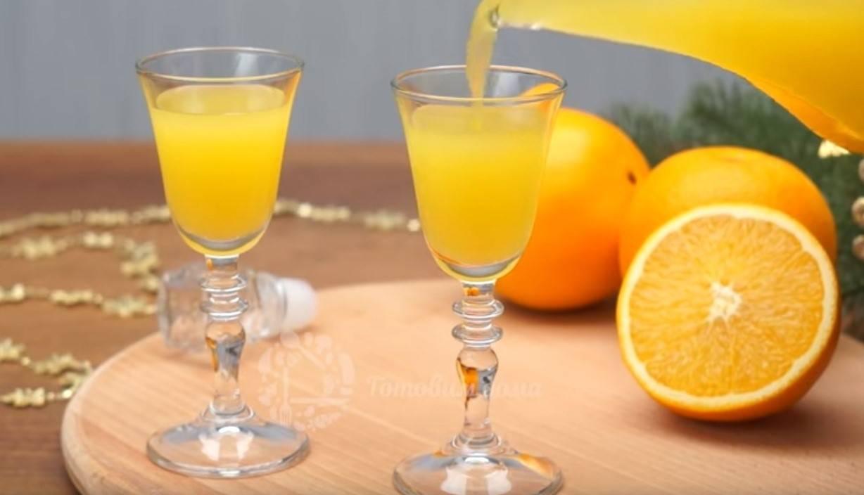 Апельсиновый ликер рецепт в домашних условиях