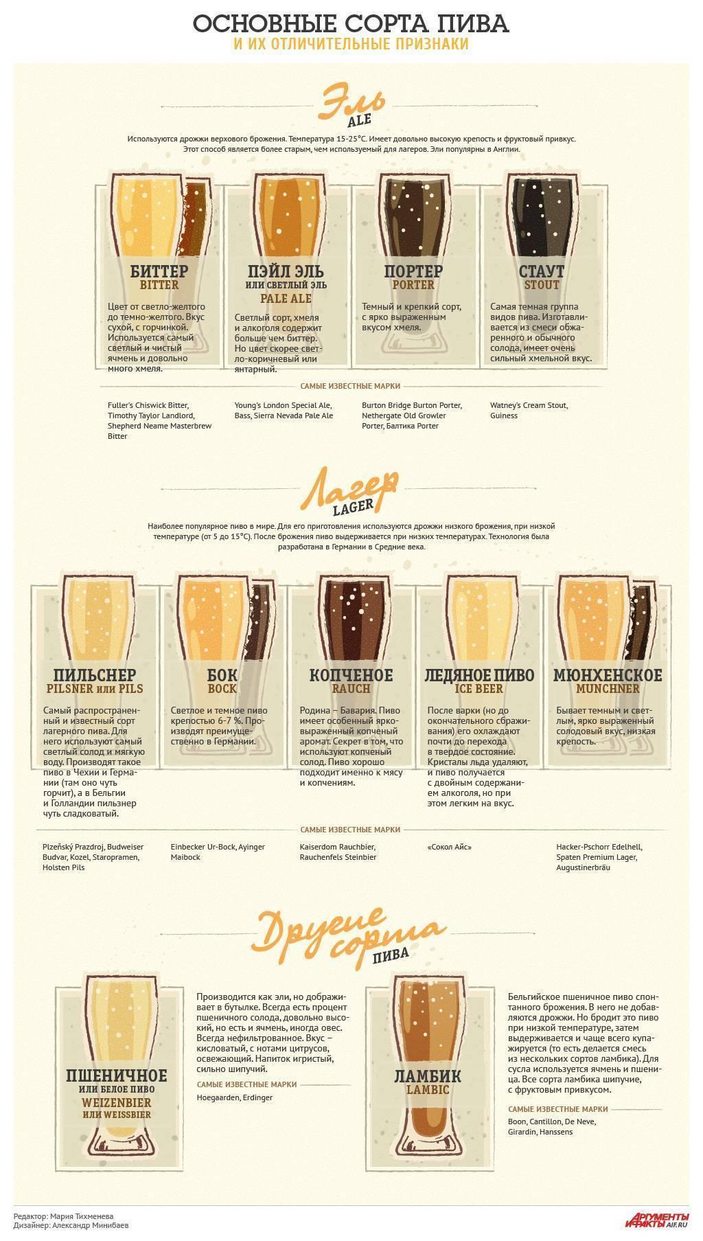 Обзор пива лагер