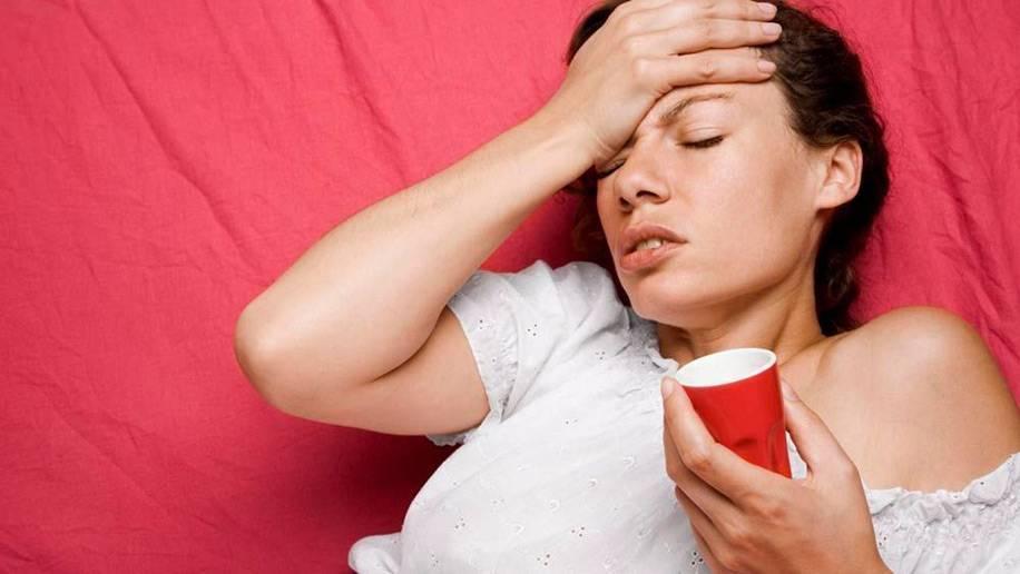 Болит горло после алкоголя