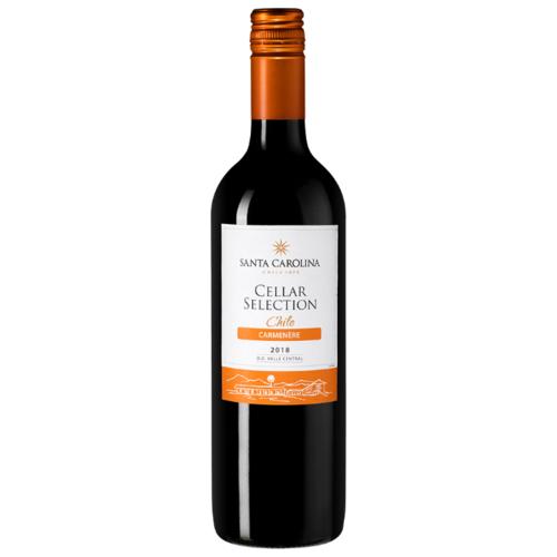 Вино в магните. чилийский карменер niebla reserva 2020.