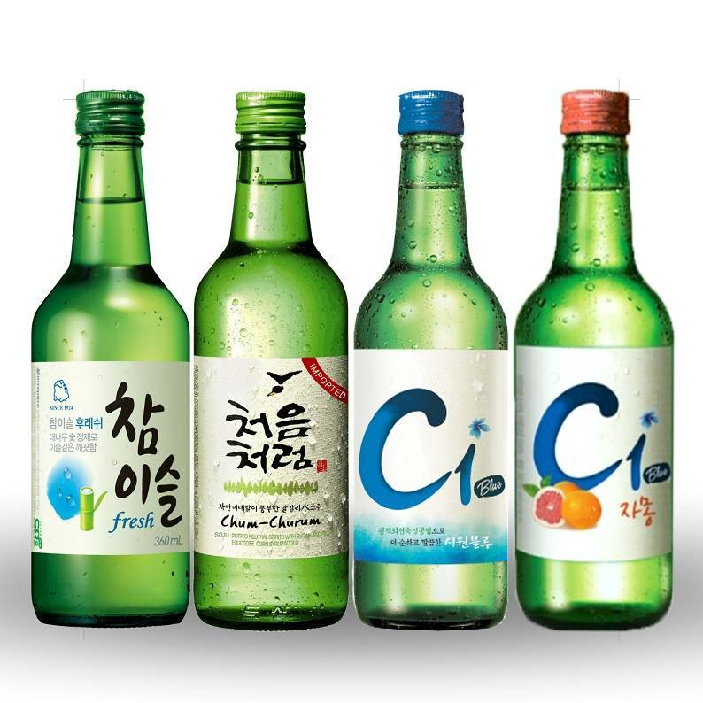 Что такое корейская водка соджу? | bezprivychek.ru