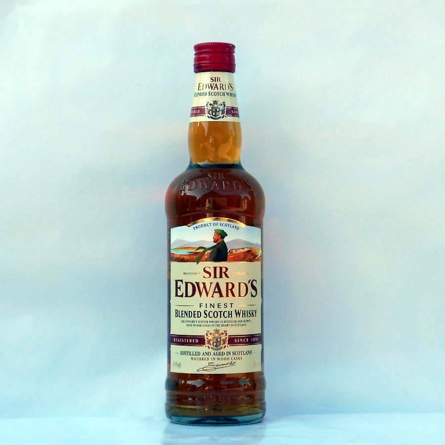 Виски «сэр эдвардс»: описание, производитель, отзывы покупателей